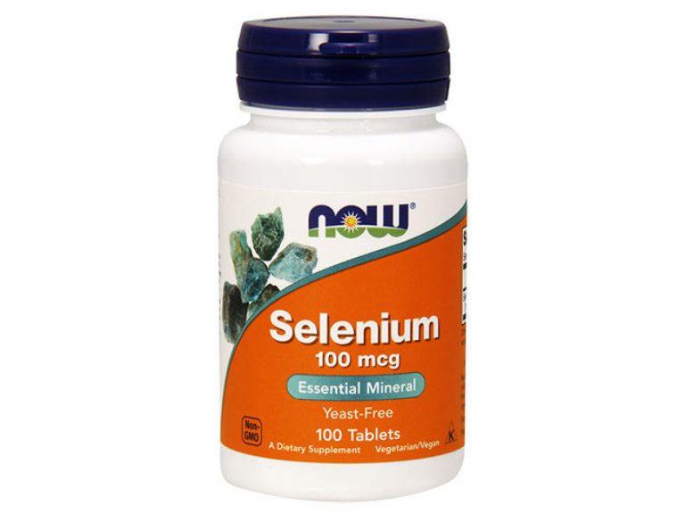 Мощен минерал за човешкия организъм Selenium на NOW