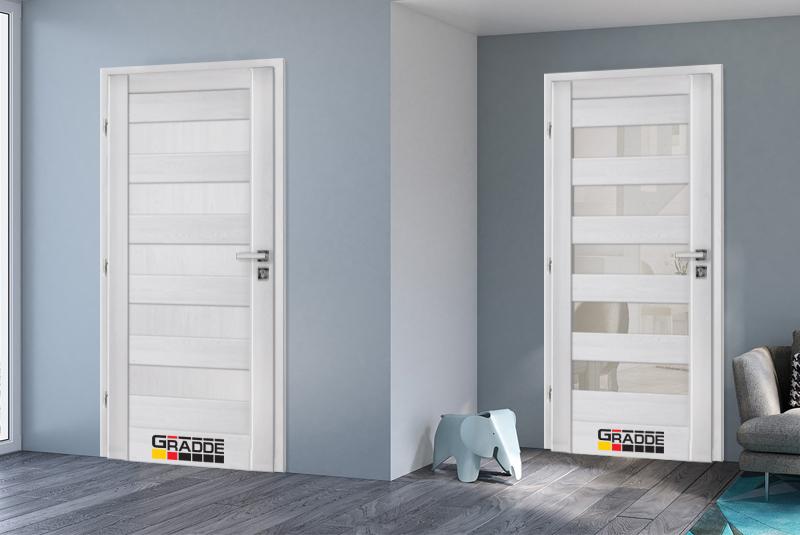 Вътрешна стъклена врата предоставя широки възможности за дизайн. С тяхна помощ можете да създадете нещо, което няма да работи с друг тип врата.